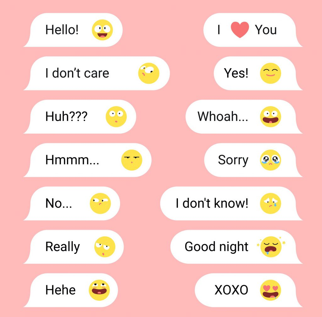 EMOTICONS in chats