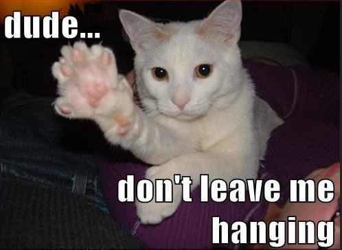 leave you Hanging